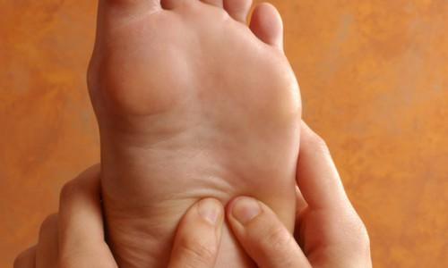 Fußreflexzonenbehandlung nach Marquardt
